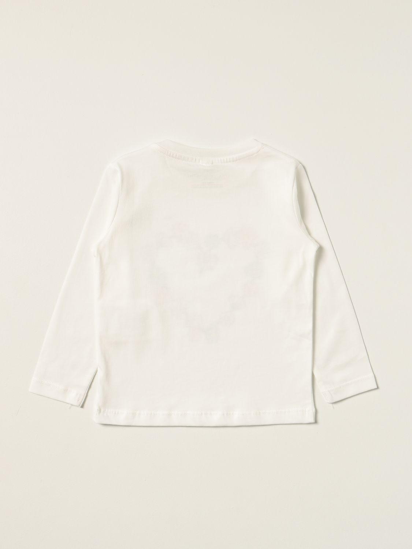 T-shirt Stella Mccartney: T-shirt Stella McCartney con cuore floreale bianco 2