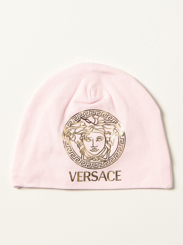 Chapeau Young Versace: Chapeau enfant Versace Young rose 1