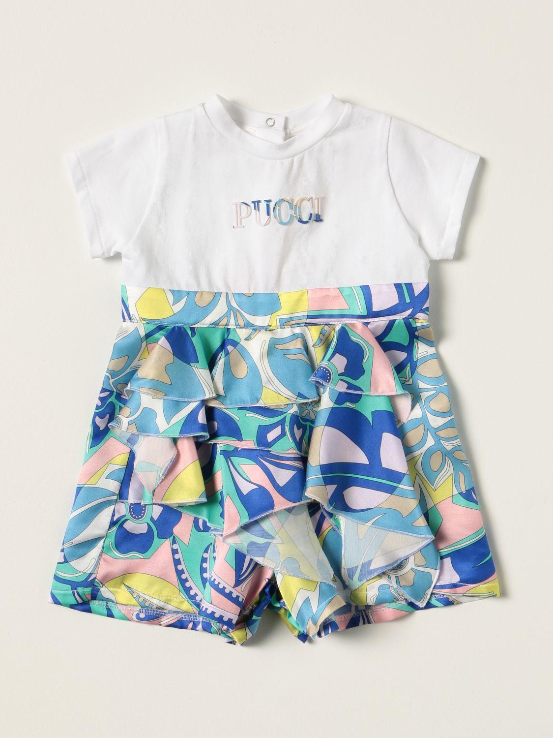 Tracksuit Emilio Pucci: Emilio Pucci short jumpsuit in cotton blend white 1