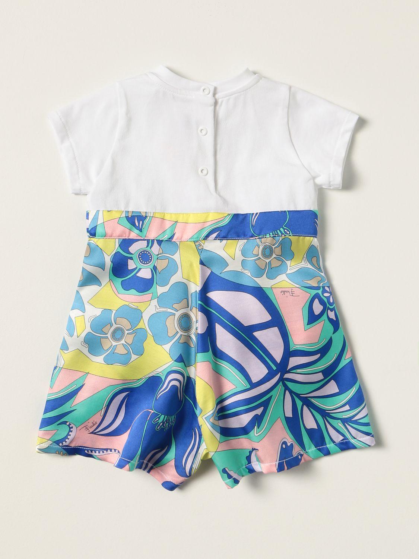 Tracksuit Emilio Pucci: Emilio Pucci short jumpsuit in cotton blend white 2
