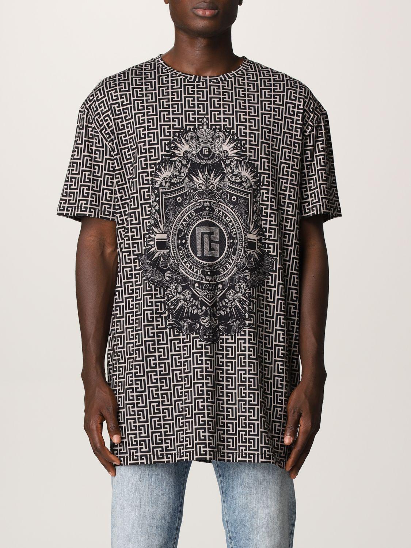 T-shirt Balmain: T-shirt men Balmain ivory 1