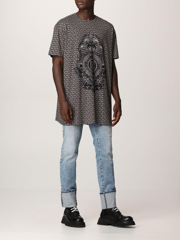 T-shirt Balmain: T-shirt men Balmain ivory 2
