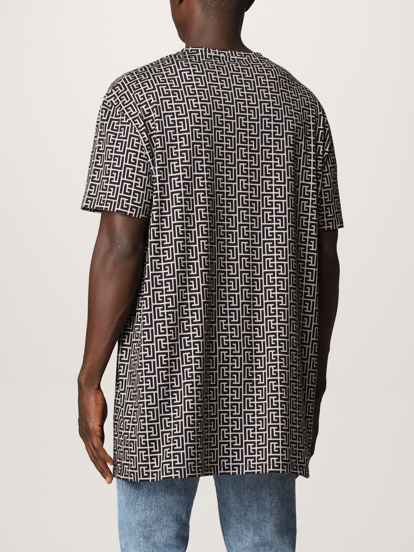 T-shirt Balmain: T-shirt men Balmain ivory 3