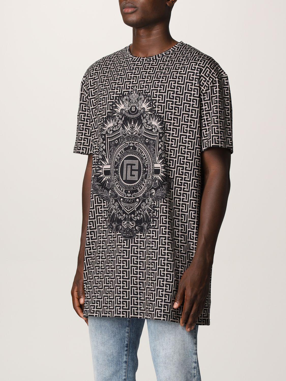 T-shirt Balmain: T-shirt men Balmain ivory 4