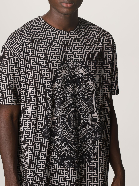T-shirt Balmain: T-shirt men Balmain ivory 5