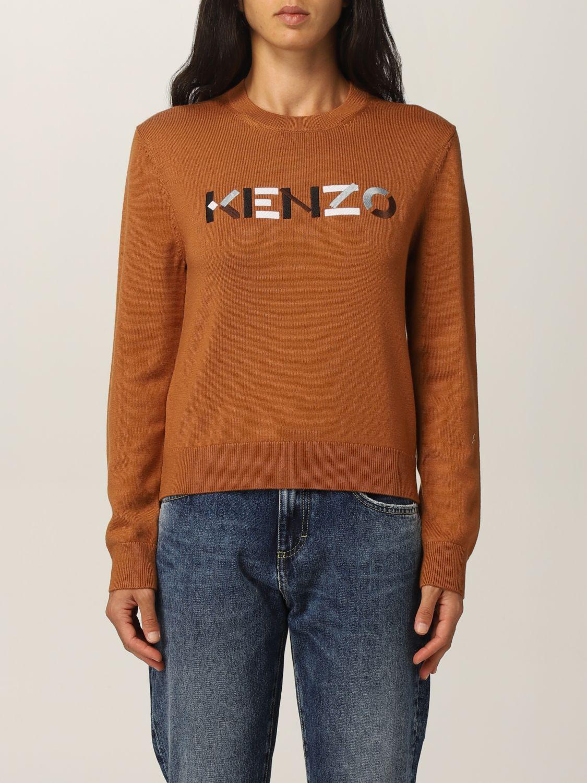 Maglia Kenzo: Maglia Kenzo in lana con logo arancione 1
