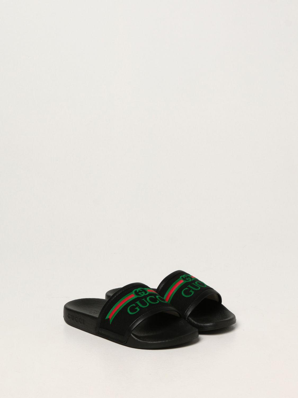 Scarpe Gucci: Sandalo Gucci in nappa nero 2