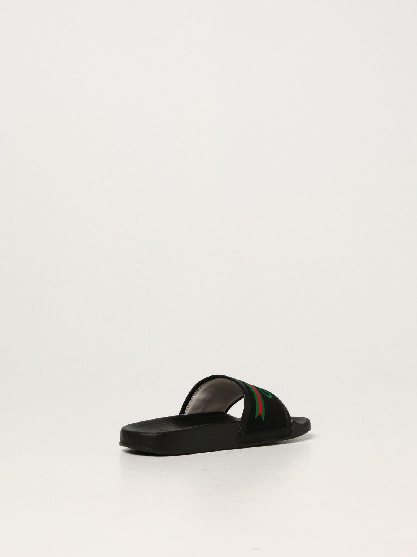 Scarpe Gucci: Sandalo Gucci in nappa nero 3