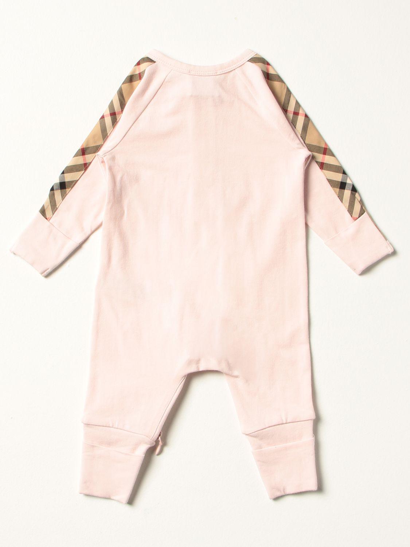 Распашонка Burberry: Комбинезон Детское Burberry розовый 2