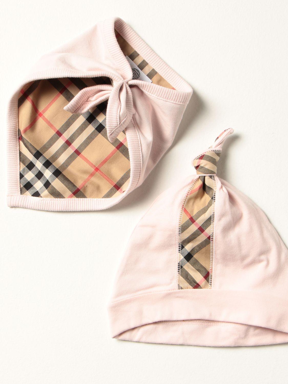Распашонка Burberry: Комбинезон Детское Burberry розовый 3