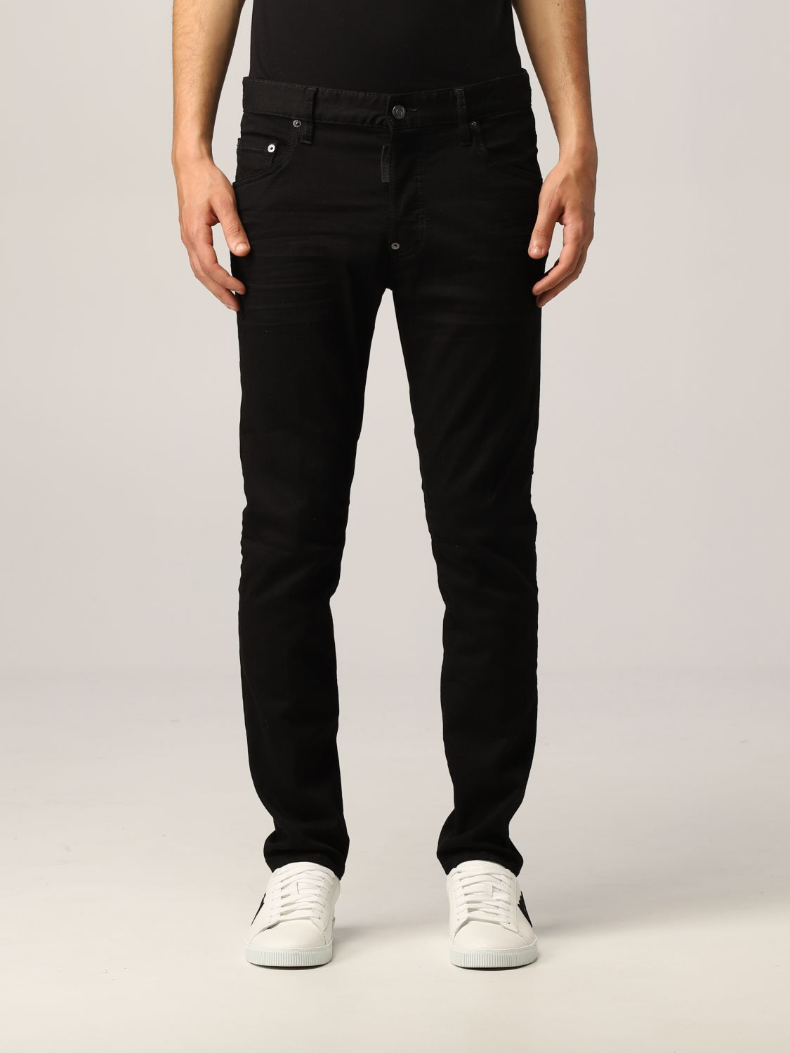Jeans Dsquared2: Jeans Dsquared2 skinny fit nero 1