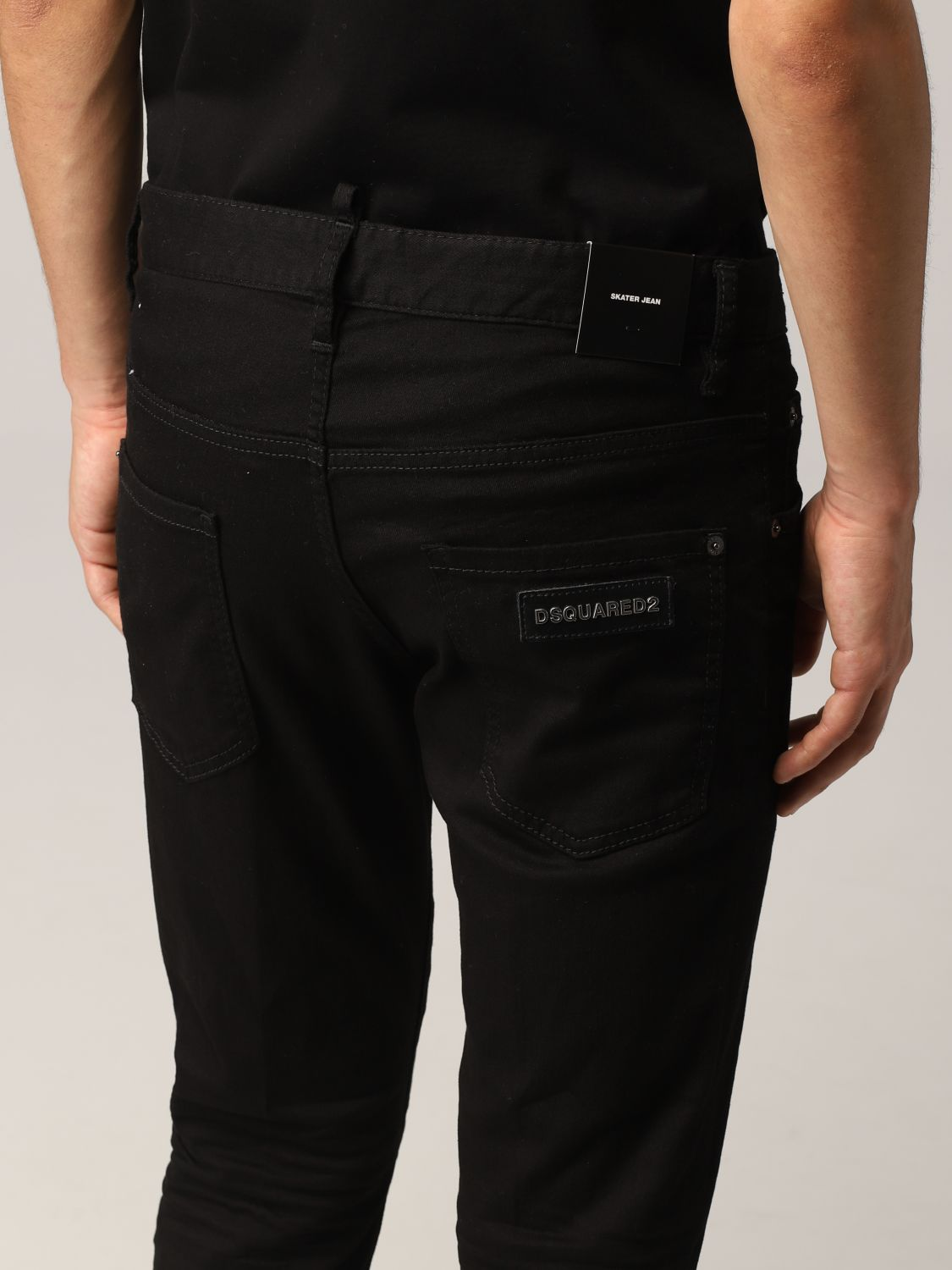 Jeans Dsquared2: Jeans Dsquared2 skinny fit nero 5