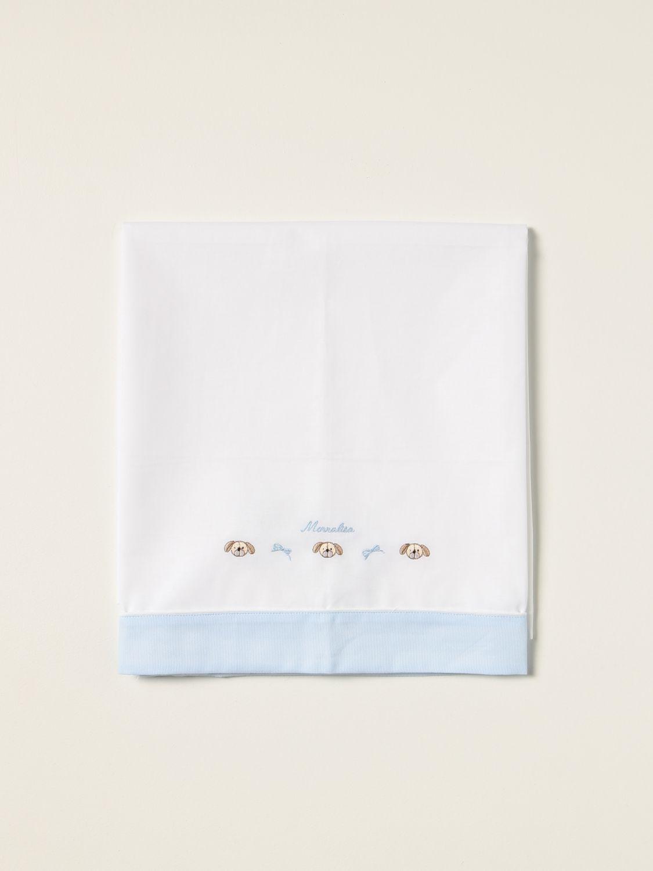 Sheets Monnalisa: Monnalisa sheets with embroidery yellow cream 2