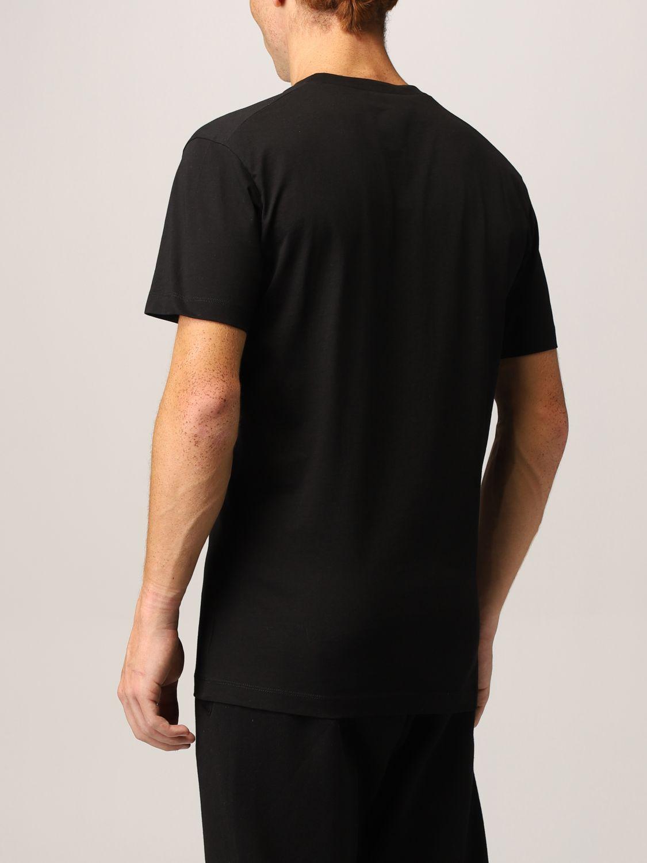 T-shirt Dsquared2: T-shirt Dsquared2 con logo Icon nero 3