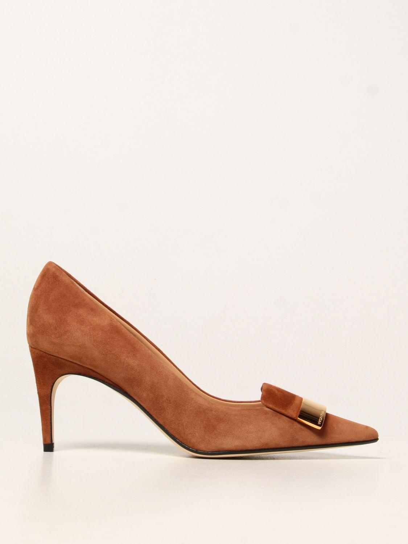 高跟单鞋 Sergio Rossi: 高跟单鞋 女士 Sergio Rossi 黄棕色 1