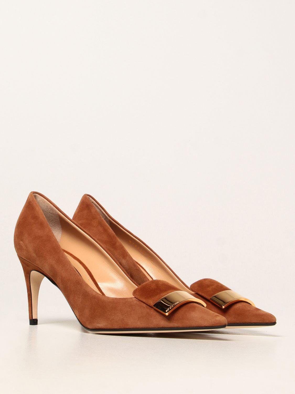 高跟单鞋 Sergio Rossi: 高跟单鞋 女士 Sergio Rossi 黄棕色 2