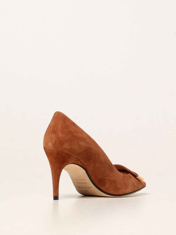 高跟单鞋 Sergio Rossi: 高跟单鞋 女士 Sergio Rossi 黄棕色 3