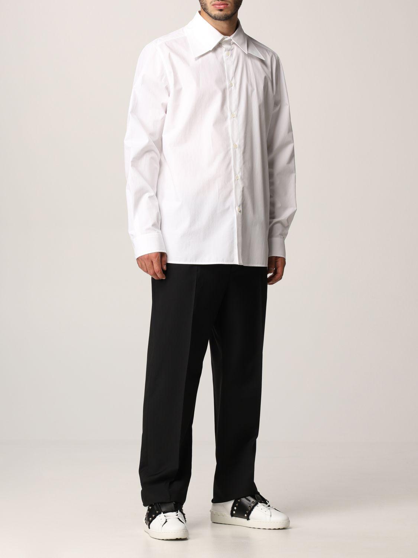 Pantalone Valentino: Pantalone Valentino in lana nero 2