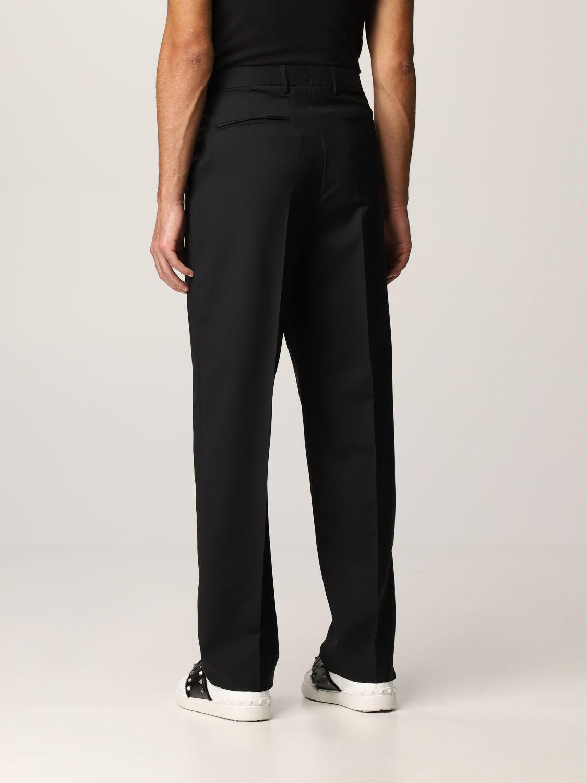 Pantalone Valentino: Pantalone Valentino in lana nero 3