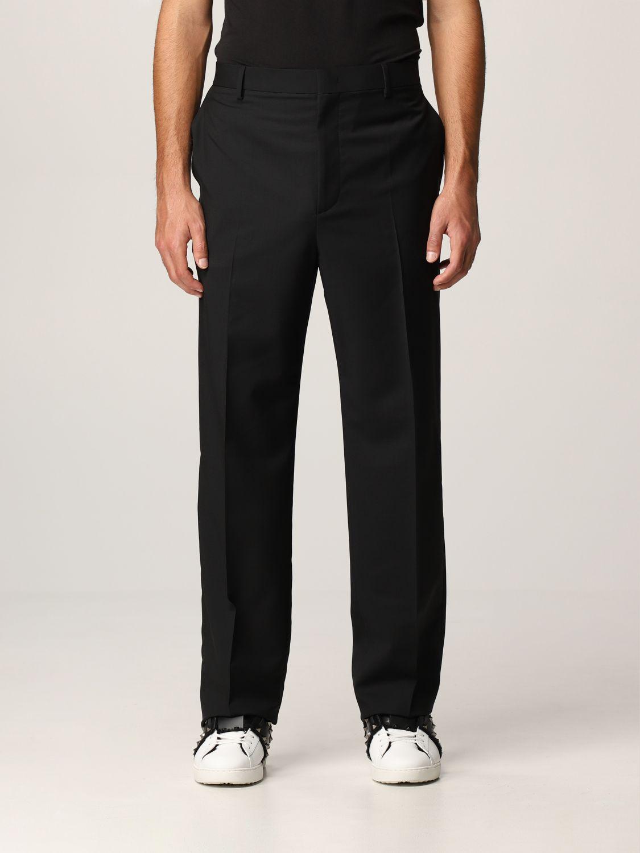 Pantalone Valentino: Pantalone Valentino in lana nero 5