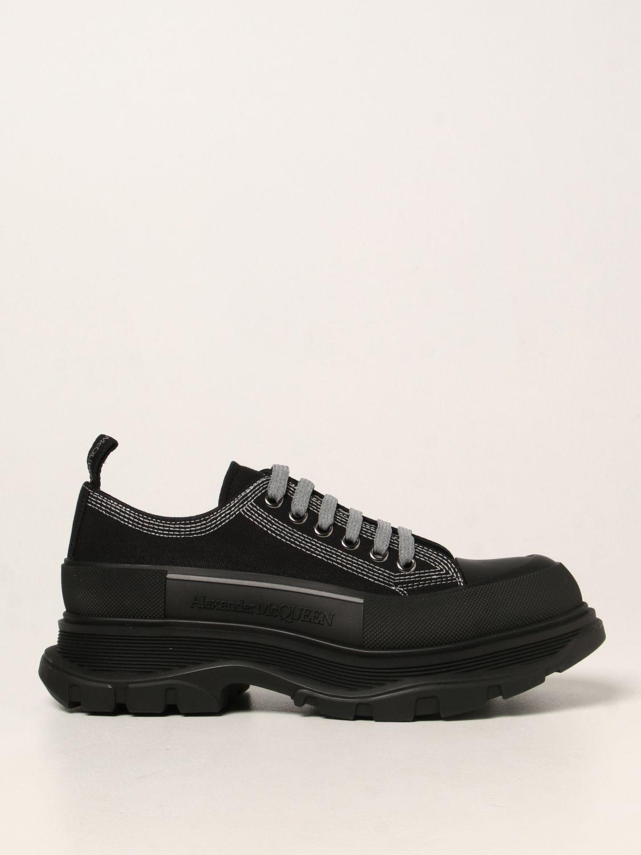 Sneakers Alexander Mcqueen: Sneakers Alexander McQueen in canvas nero 1