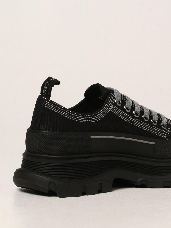 Sneakers Alexander Mcqueen: Sneakers Alexander McQueen in canvas nero 3