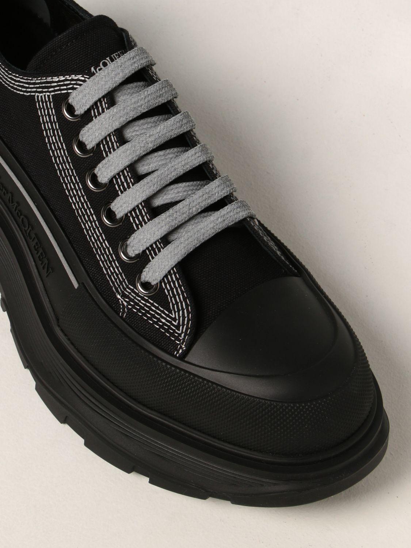 Sneakers Alexander Mcqueen: Sneakers Alexander McQueen in canvas nero 4