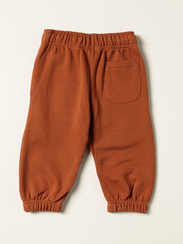 Pants Molo: Molo cotton pants with logo grey 2