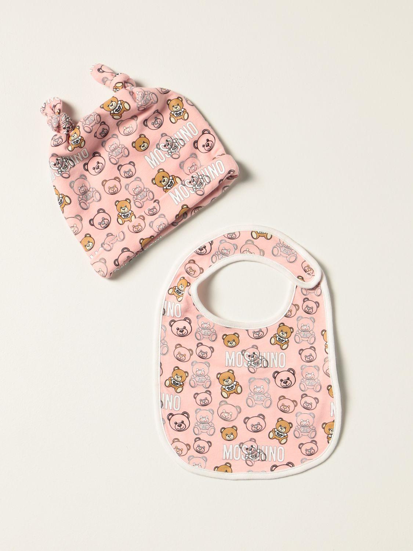 Pack Moschino Baby: Jumpsuit kids Moschino Baby pink 1