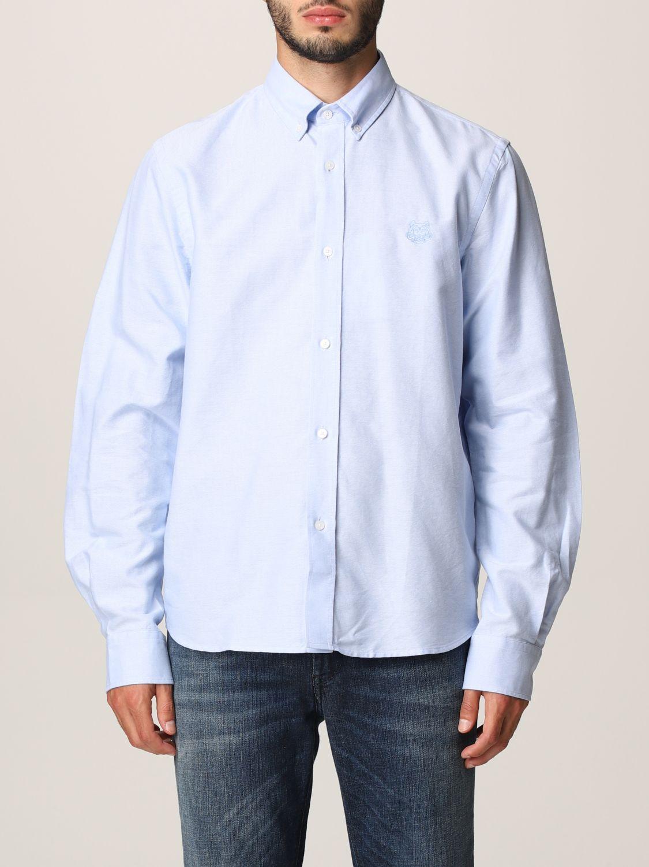 Camisa Kenzo: Camisa hombre Kenzo azul oscuro 1