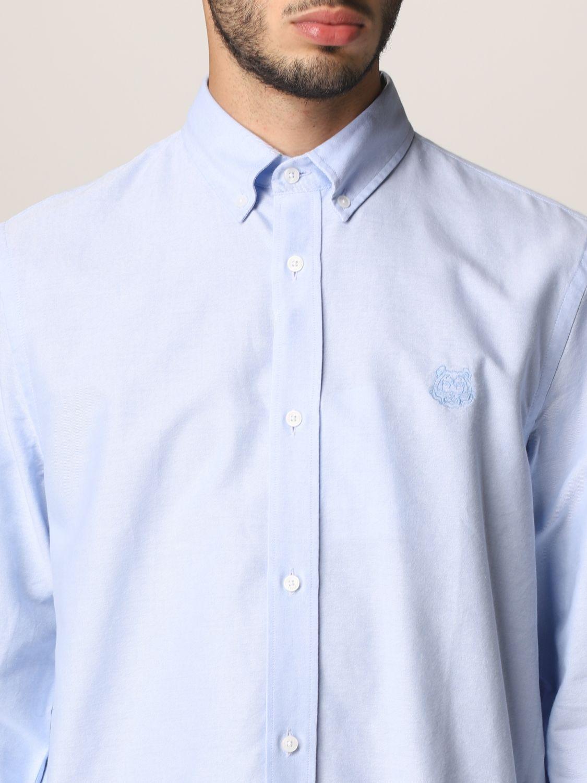 Camisa Kenzo: Camisa hombre Kenzo azul oscuro 4