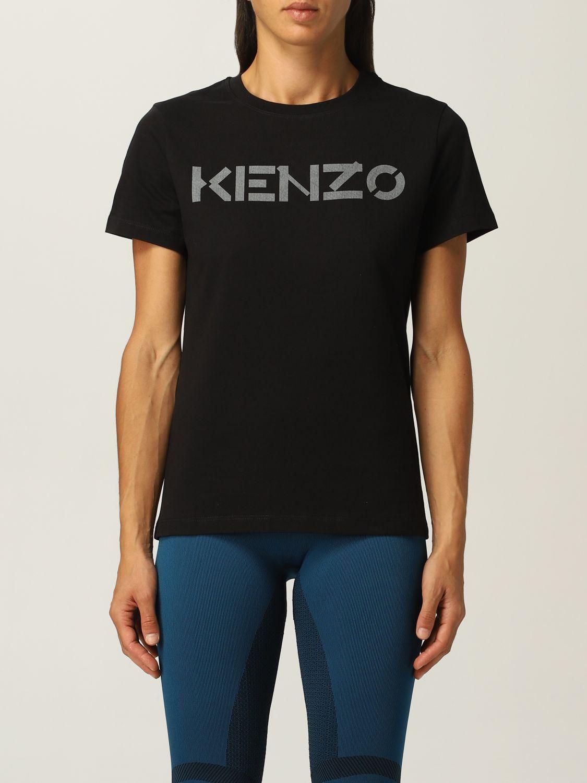 T-shirt Kenzo: T-shirt Kenzo con logo nero 1
