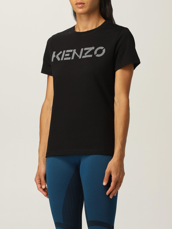 T-shirt Kenzo: T-shirt Kenzo con logo nero 4