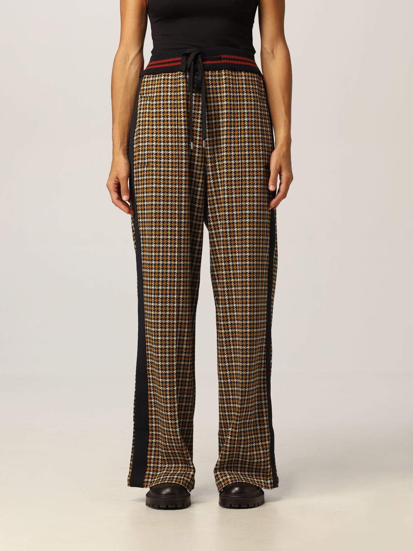 Marni Jaquard Trousers In Black