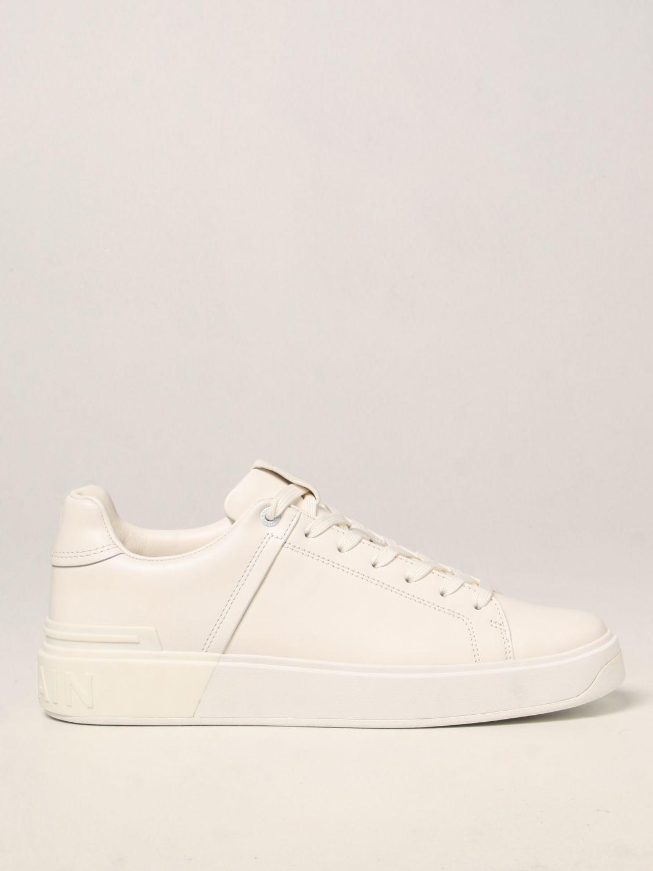 Sneakers Balmain: Sneakers Balmain in pelle bianco 1