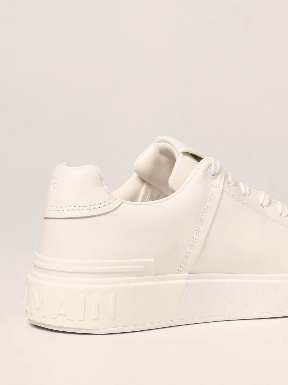 Sneakers Balmain: Sneakers Balmain in pelle bianco 3