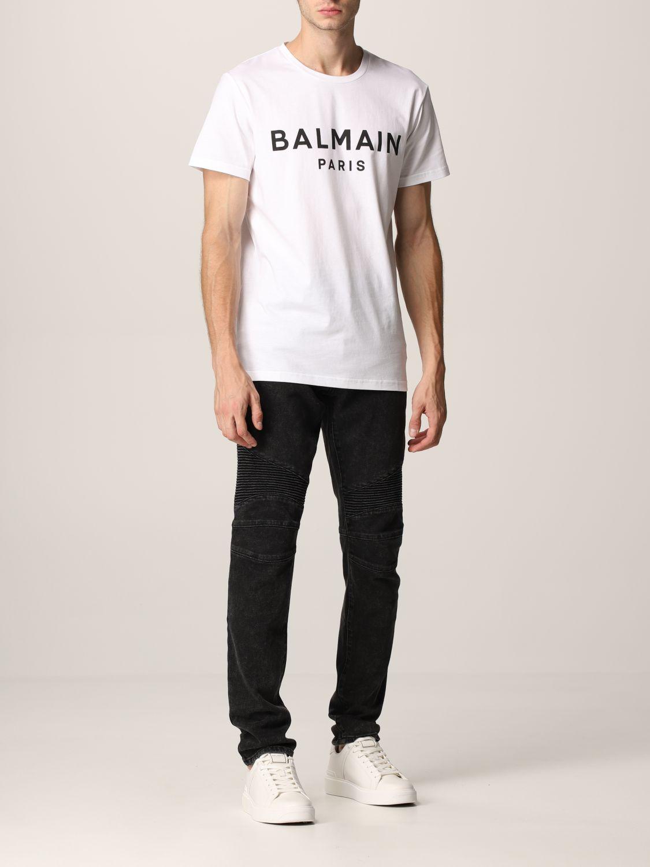 Jeans Balmain: Jeans men Balmain black 2
