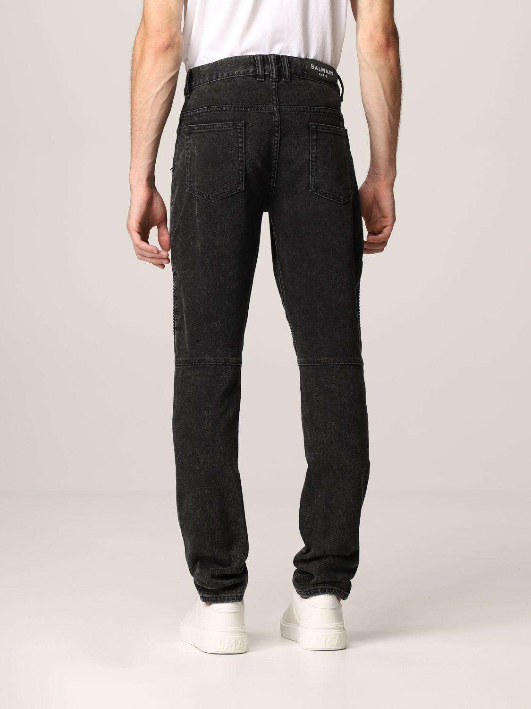 Jeans Balmain: Jeans men Balmain black 3