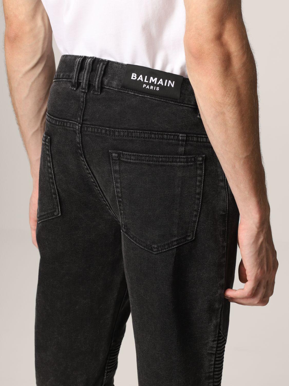 Jeans Balmain: Jeans men Balmain black 5