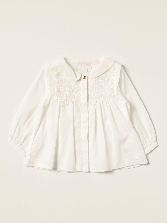 Shirt Chloé: Shirt kids ChloÉ white 1