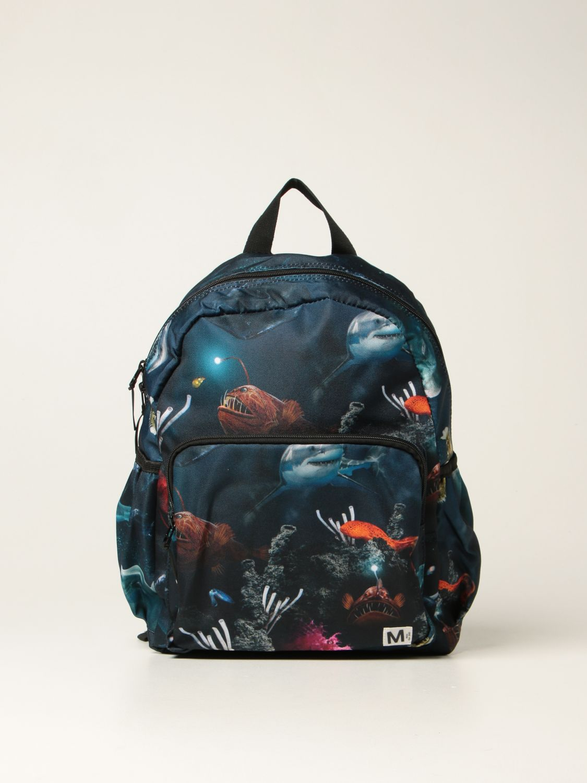 Duffel Bag Molo: Molo rucksack with prints black 2 1