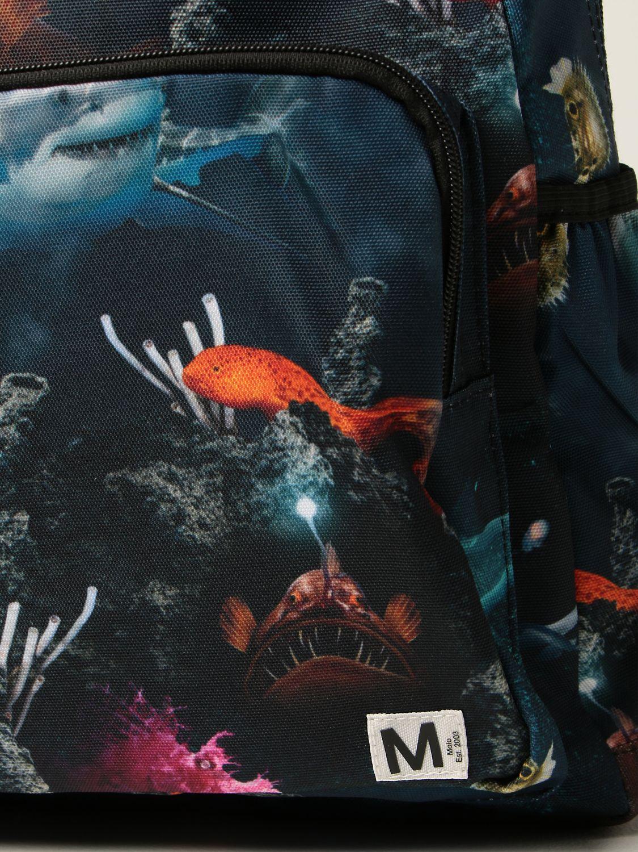 Duffel Bag Molo: Molo rucksack with prints black 2 3