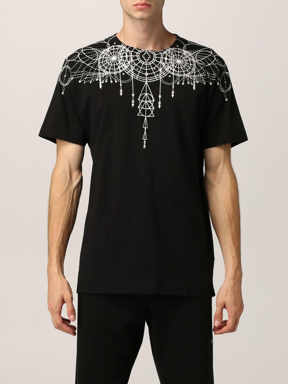 T-shirt Marcelo Burlon: T-shirt homme Marcelo Burlon noir 1