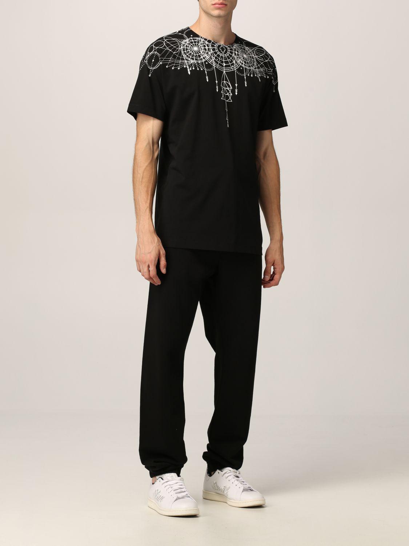 T-shirt Marcelo Burlon: T-shirt homme Marcelo Burlon noir 2