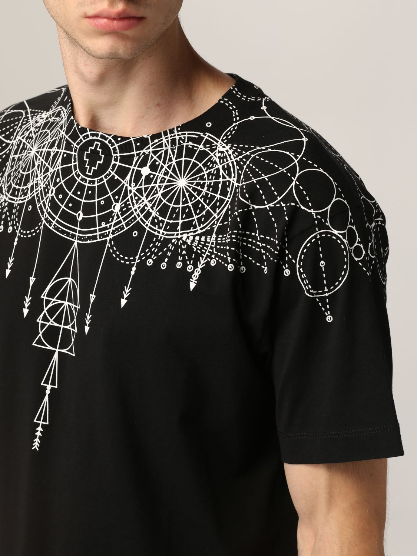 T-shirt Marcelo Burlon: T-shirt homme Marcelo Burlon noir 5