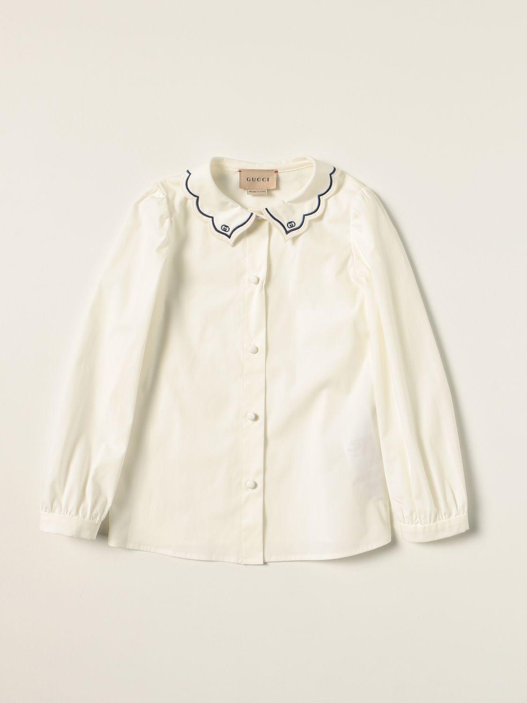 衬衫 Gucci: 衬衫 儿童 Gucci 白色 1