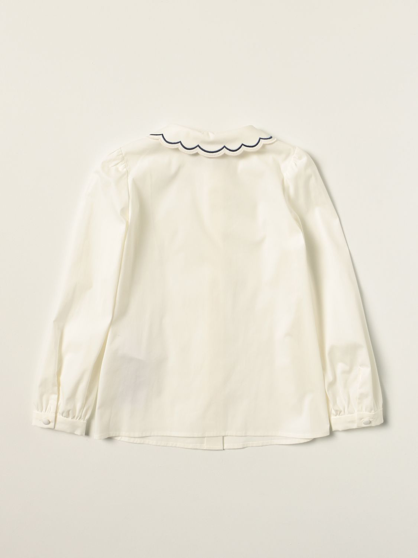衬衫 Gucci: 衬衫 儿童 Gucci 白色 2