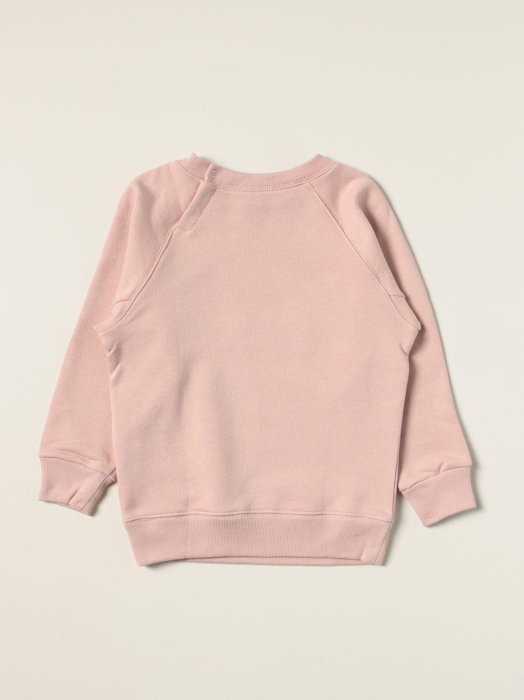 Maglia Gucci: Felpa a girocollo Gucci con logo ciliegia rosa 2