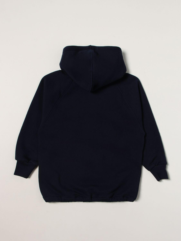 Giacca Gucci: Giacca con zip Gucci con logo blue 2