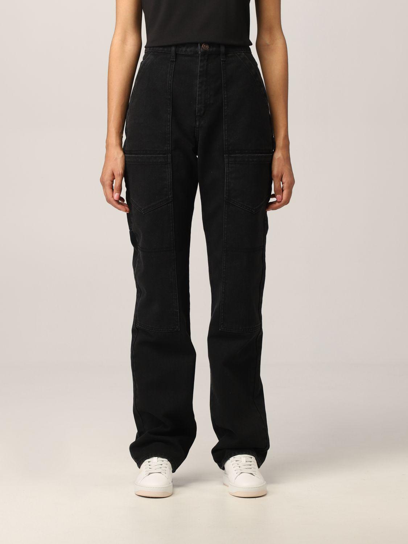 Pantalone Kenzo: Jeans Kenzo in denim nero 1